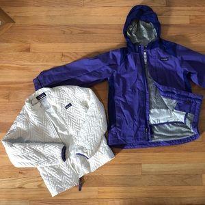 Patagonia Girls 10 Ski Snowboard Jacket